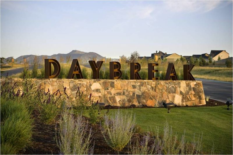 Daybreak Community Entrance